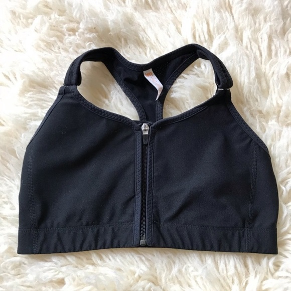 6f2dda60b Lucy Other - Lucy Black High Impact Zip Front Sports Bra Medium